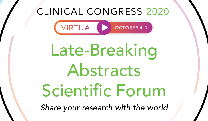 Call for Late-Breaking Abstracts