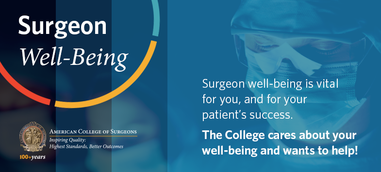 Surgeon Well-Being