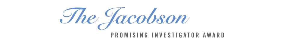 The Jacobson Promising Investigator Award