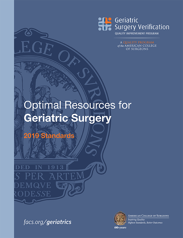 Optimal Resources for Geriatric Surgery