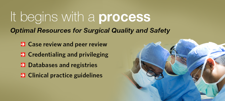 Optimal Resources for Surgical Quality and Safety