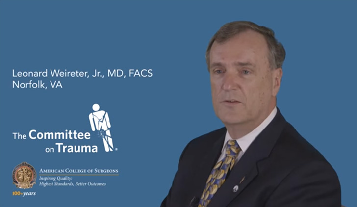 Dr. Weireter on becoming a member